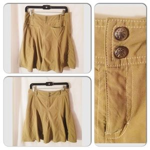 Athleta Skort Size 6 Tan